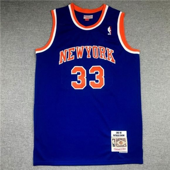 New York Knicks Patrick Ewing Jersey